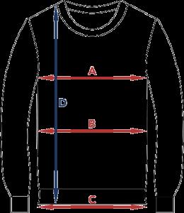 Størrelsesguide genser
