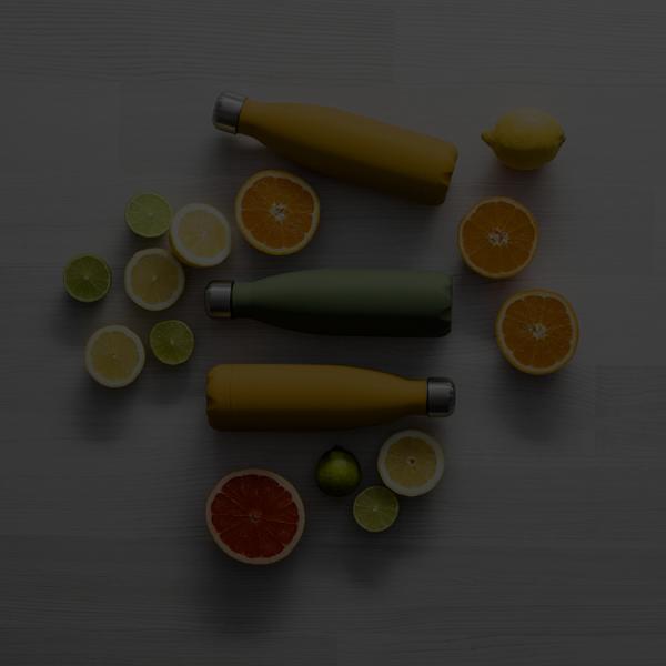 Kopper og flasker