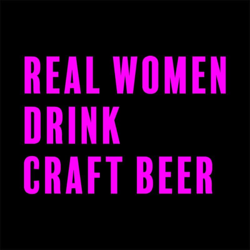 Real women drink craft beer