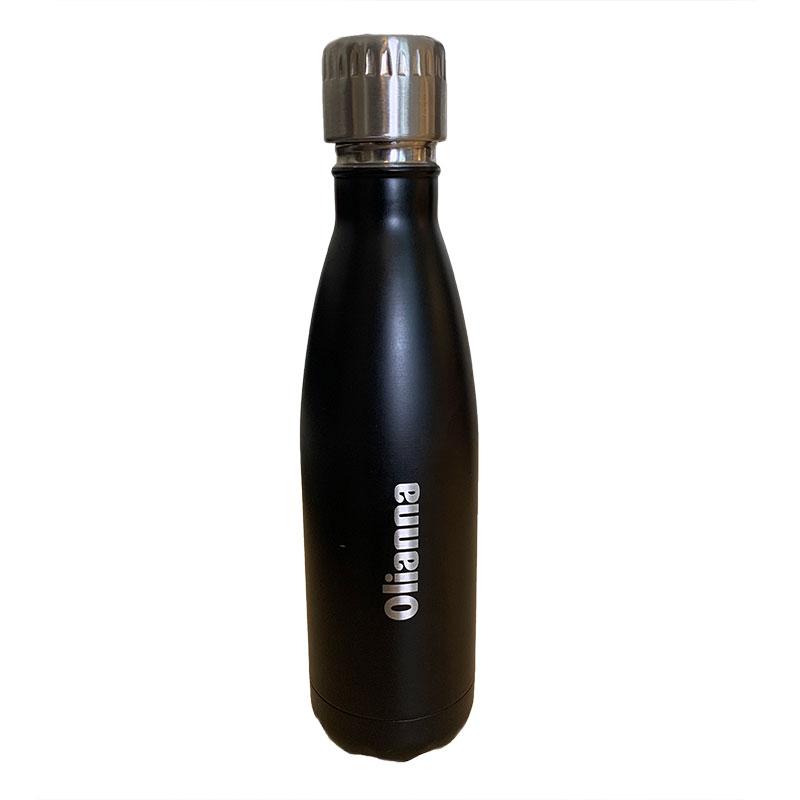 Gravert navn på termoflaske