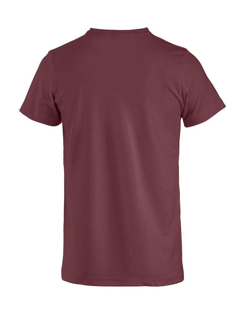 Clique Basic-T rygg i burgunder farge
