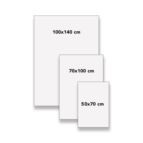 Plakat i forskjellige format