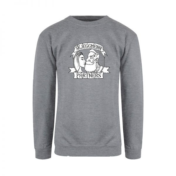 Skjeggmenn Partner sweatshirt Ladies grå