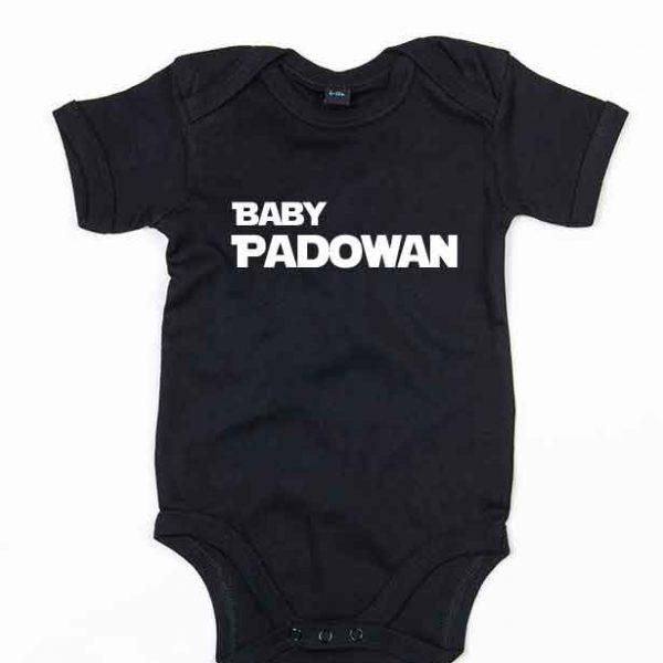 Baby Padowan Babybody Svart