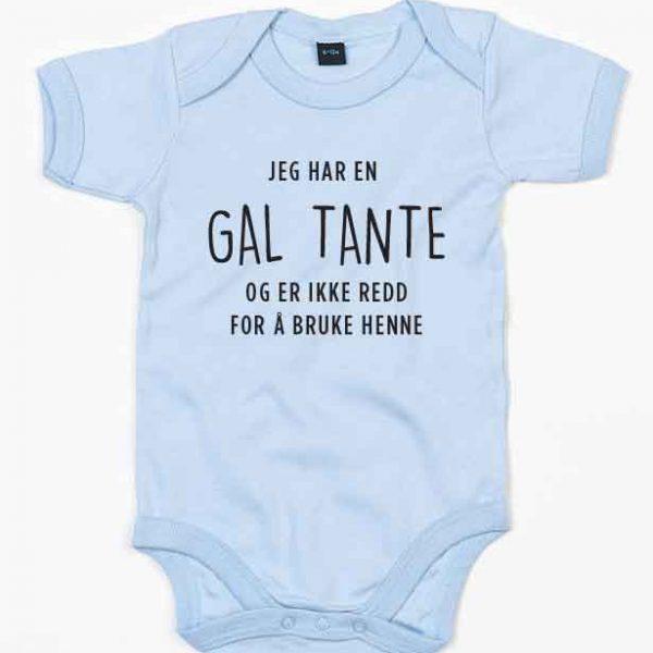 Babybody Gal Tante blå
