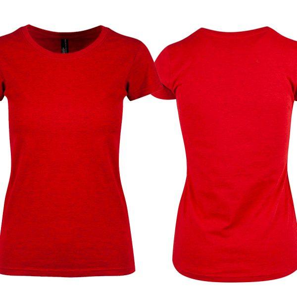 Hold avstand T skjorte Dame Grå | Printhub.no alt blir