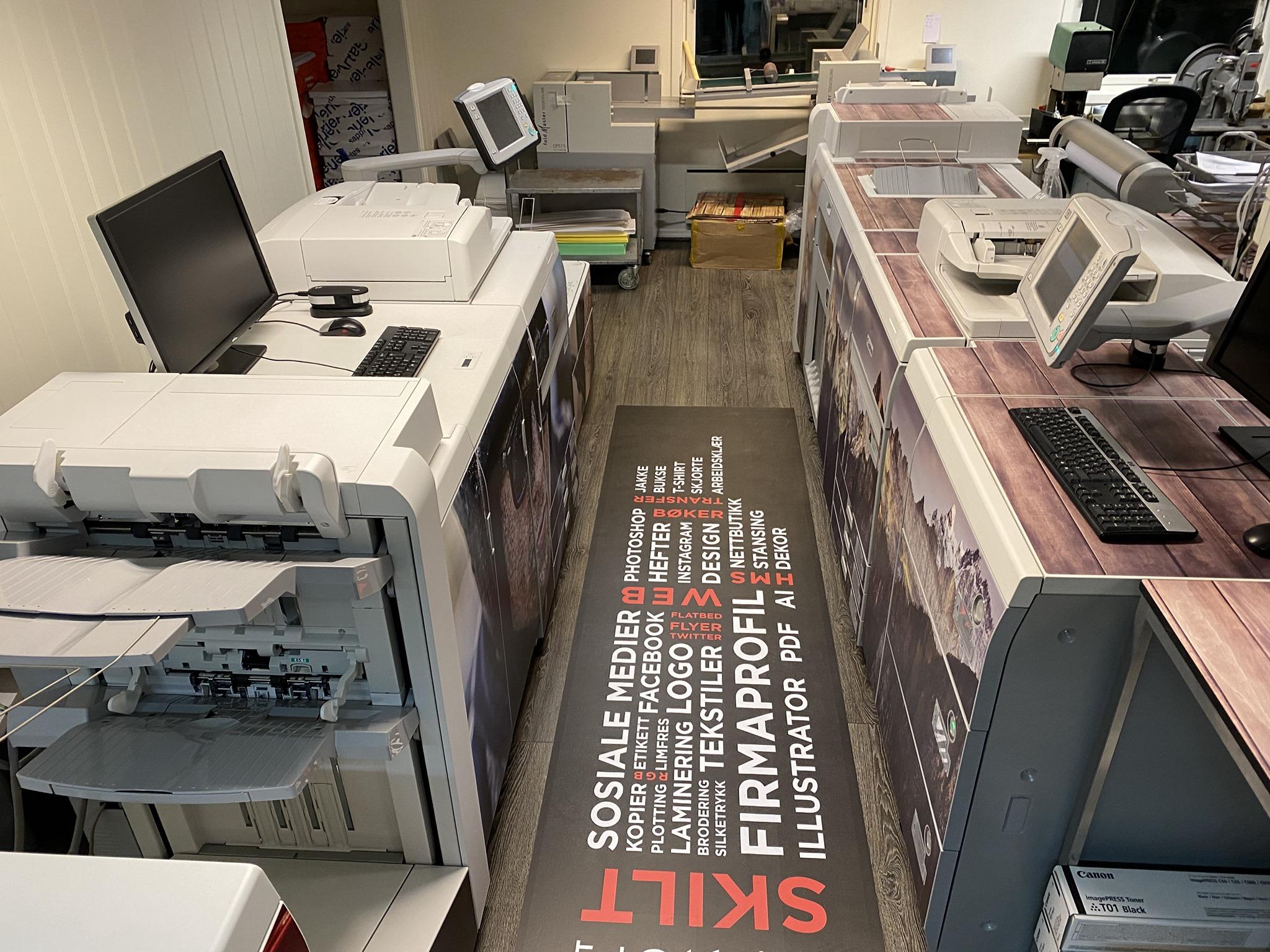 Bilde av vår maskinpark