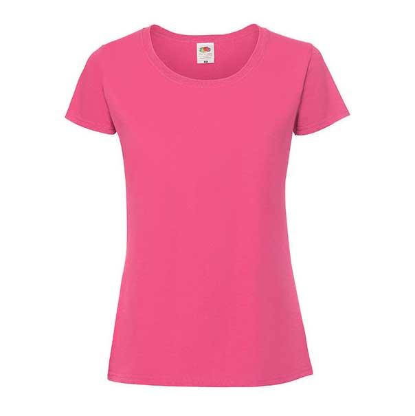 Premium T ladies fra Fruit of the loom, i fargen rosa