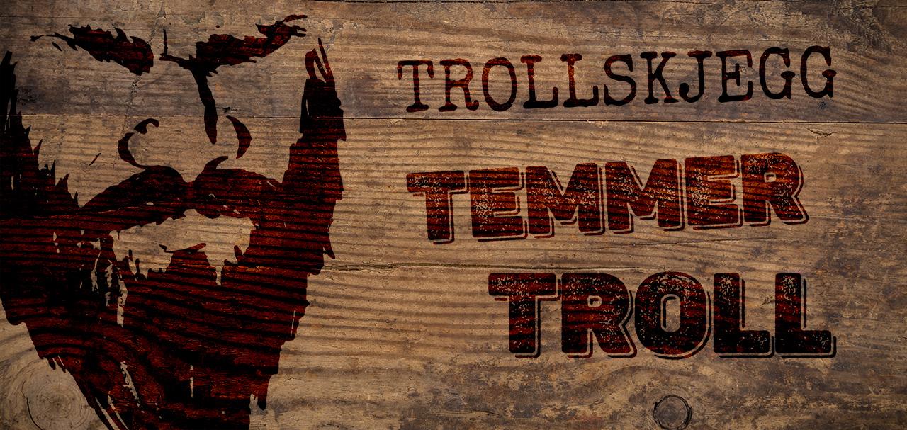 Banner med Trollskjegg-logo
