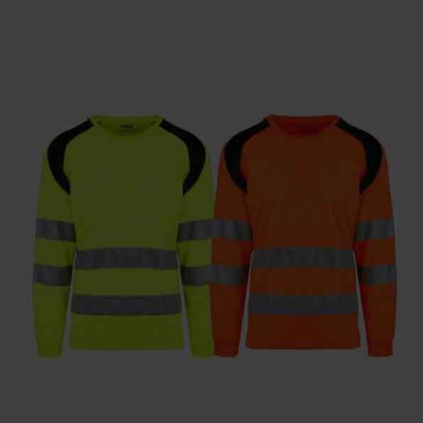 Refleksskjorter