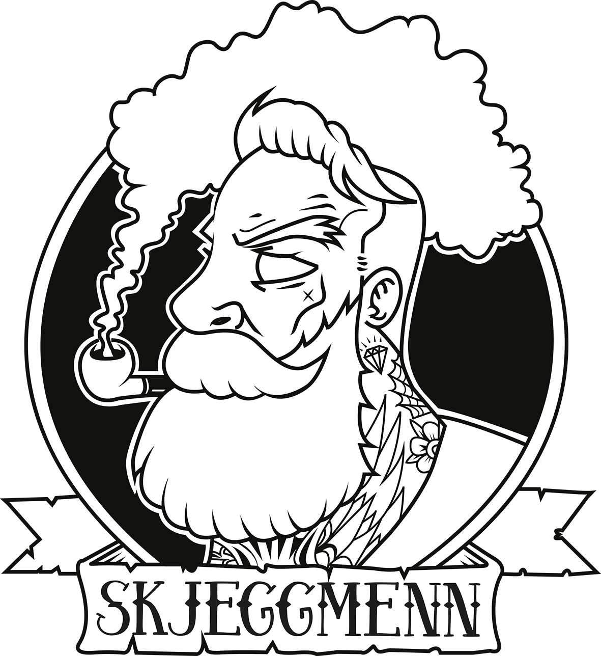 Skjeggmenn-logo