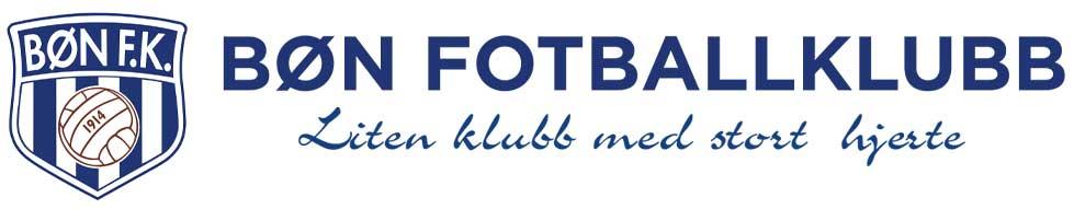 Bøn Fotballklubb - liten klubb med stort hjerte