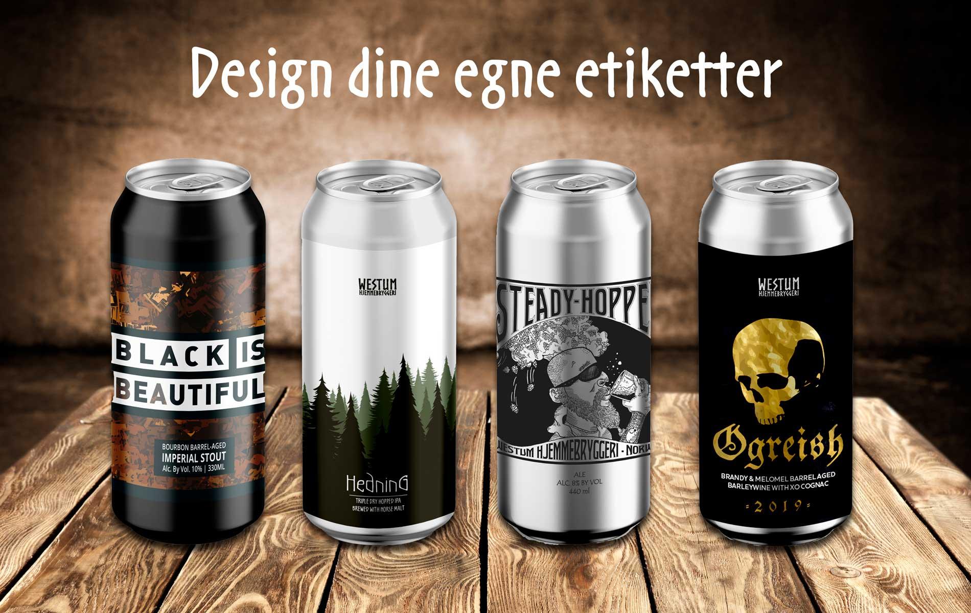 Design dine egne etiketter